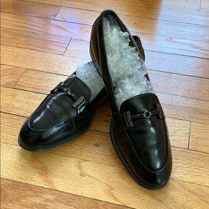 *SOLD* TOD'S Black Leather Loafer  Horsebit Buckle